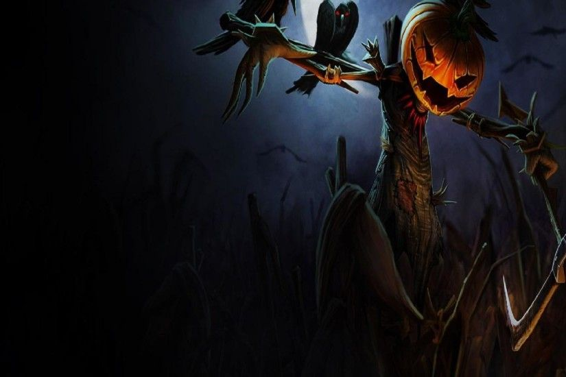 Scarecrow Wallpaper