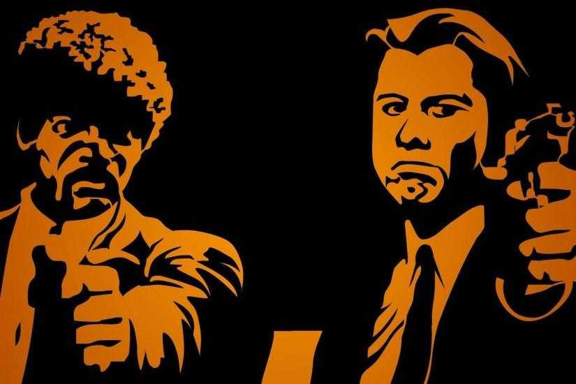 PULP FICTION crime thriller drama comedy wallpaper | 1920x1080 | 497601 |  WallpaperUP