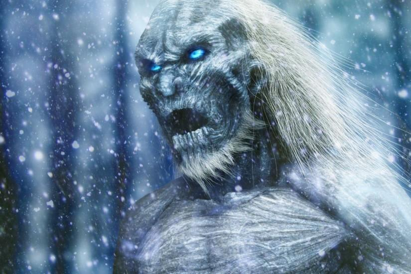 Download 'game of thrones white walkers wallpaper' HD wallpaper