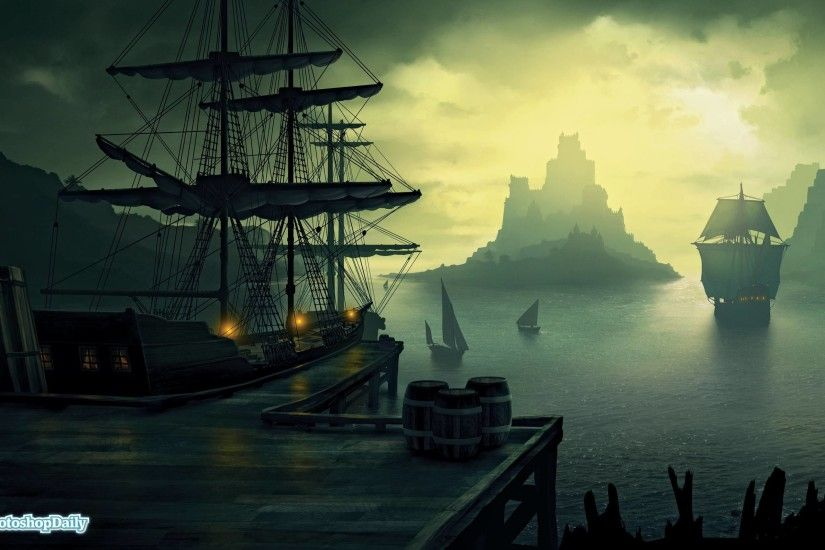 Pirate Ship Wallpapers and Background