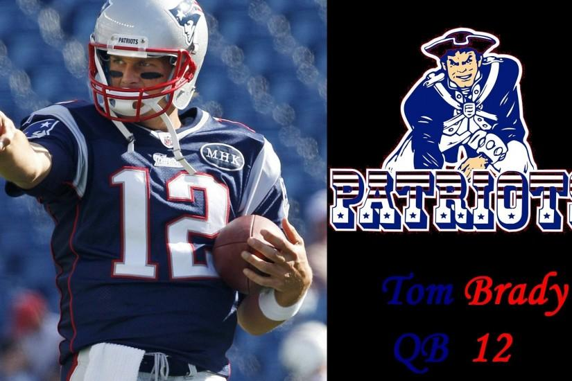 New England Patriots Tom Brady Wallpaper 754044 ...