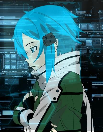 large sinon wallpaper 2001x2560