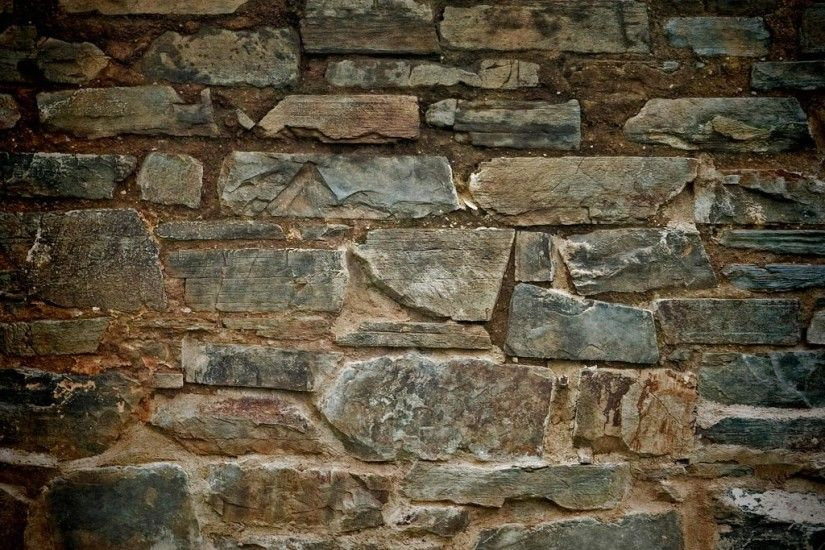 Backgrounds HD Old Stone Brick Wall Texture Wallpaper For IPad 4