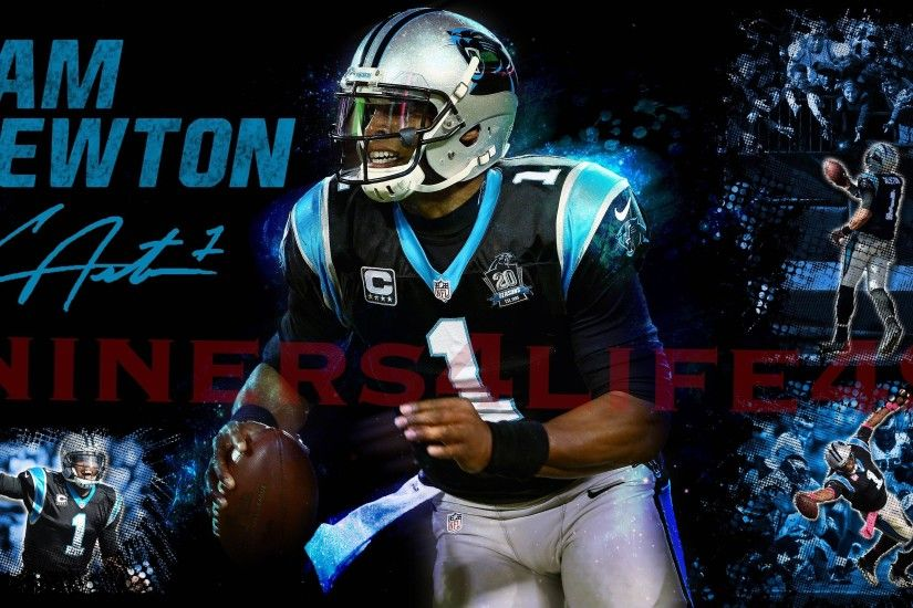Nfl Team Carolina Panthers Wallpapers Cam Newton | Zoom Wallpapers ...