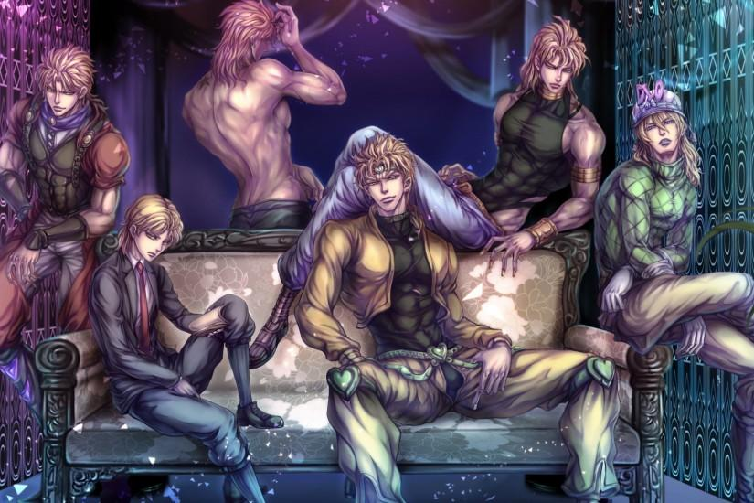 JoJo's Bizarre Adventure Dio Brando 1080p HD Wallpaper Background