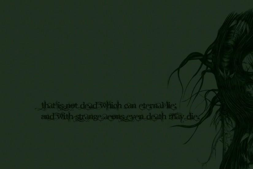 quote, Cthulhu Wallpaper HD