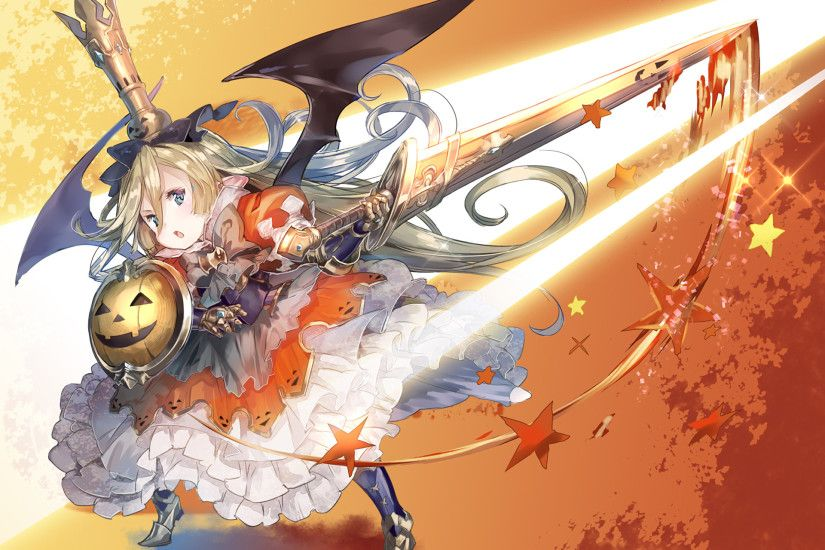 Anime Granblue Fantasy Charlotta (Granblue Fantasy) Halloween Wallpaper