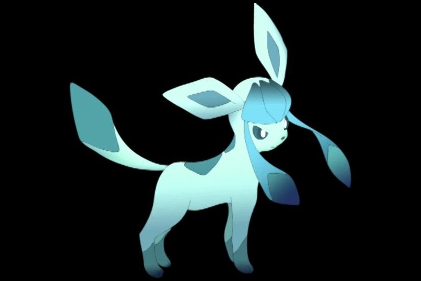 "The Eevee EP ~ ""Snowflakes in Her Hair"" - Glaceon"