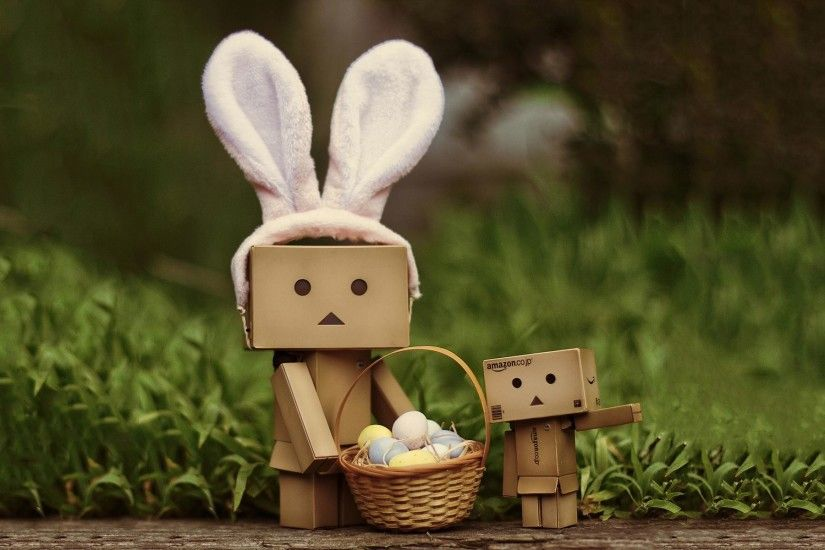 Danbo Easter wallpaper