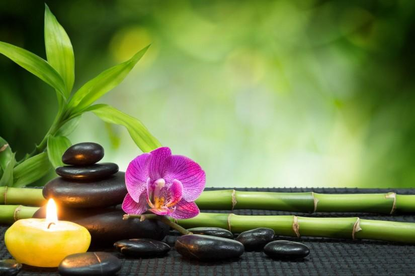 ♥Relaxing Spa♥ - Flowers Nature Background Wallpapers on