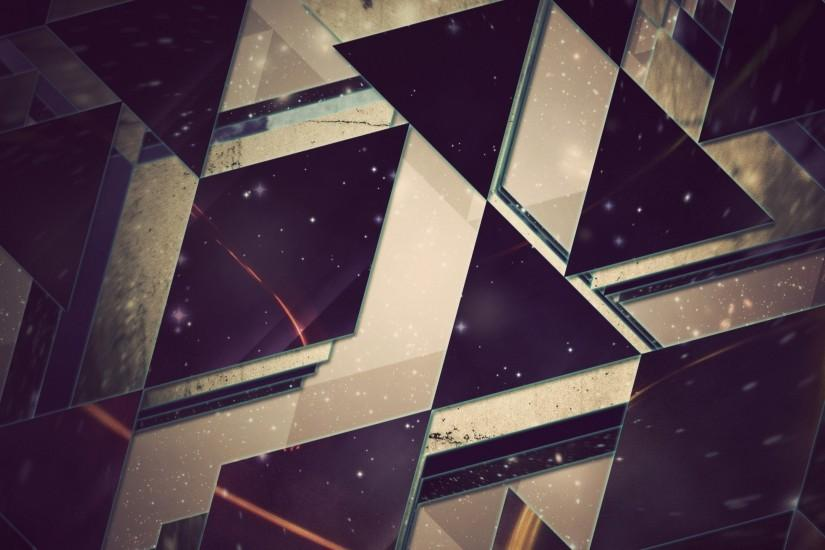 Preview wallpaper triangles, background, light 2560x1440