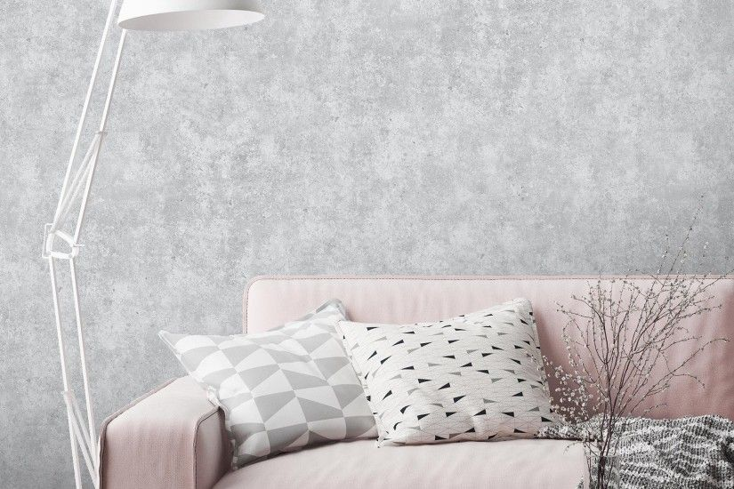 Realistic Concrete Wallpaper by Woodchip & Magnolia