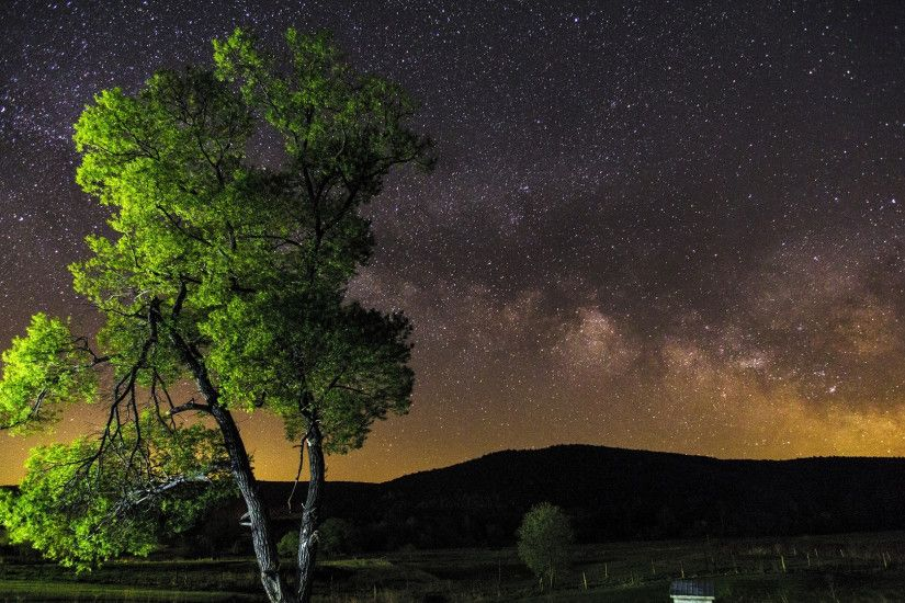 ... Milky Way & Constellation on the Night Sky | HD Wallpapers ...