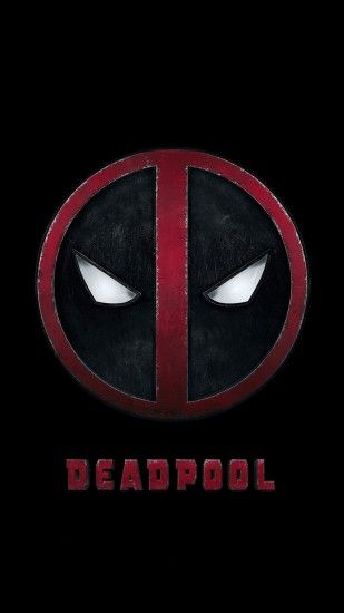 Deadpool Logo Dark Art Hero #iPhone #7 #wallpaper