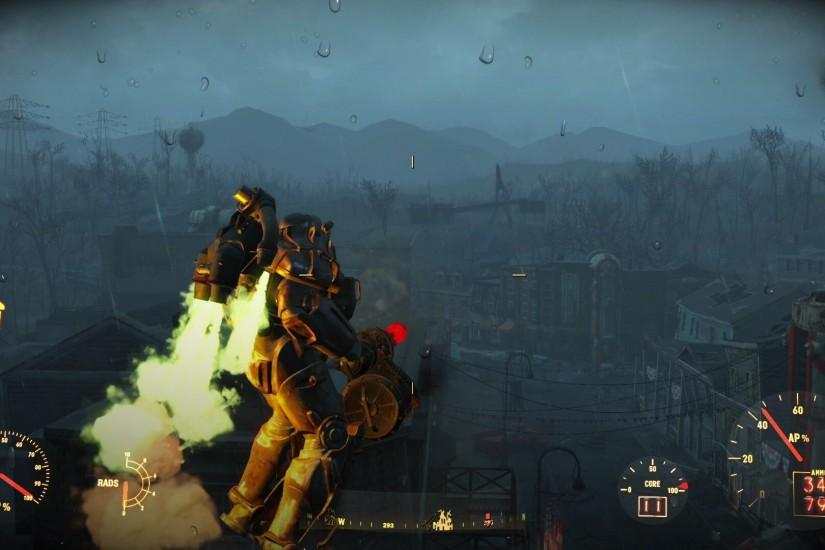 Fallout 4 - Power Armor Jetpack