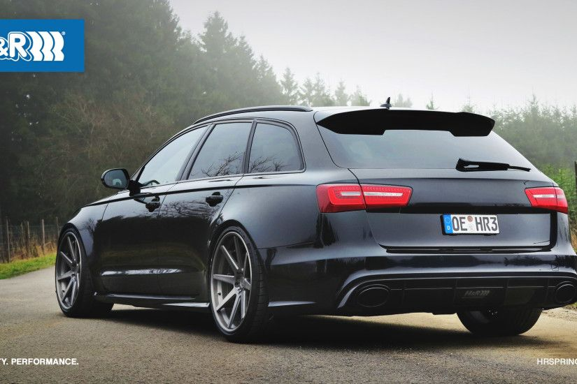 Audi RS 6 Wallpaper by H&R