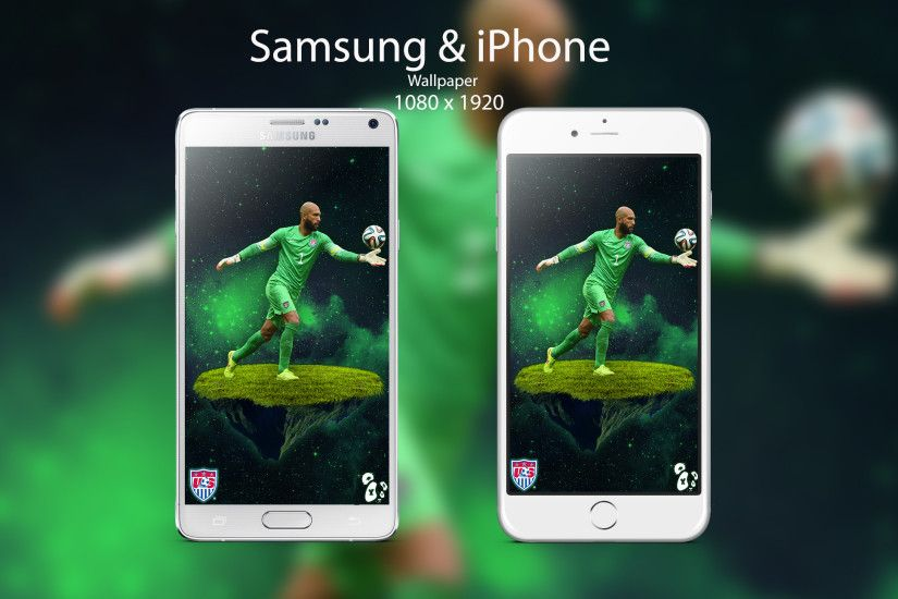 ... Tim Howard Android and IOS Wallpaper by EdwinArtwork