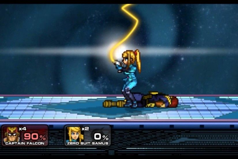 Smash Saturday: Captain Falcon vs. Z.S.S (Zero Suit Samus)