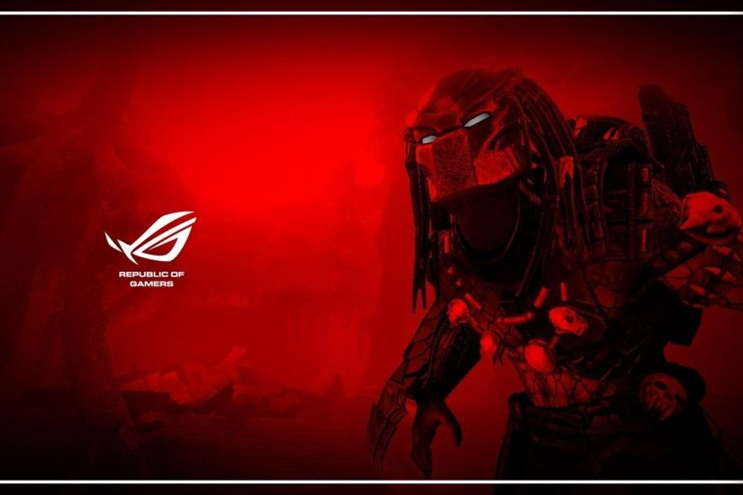 Gamers Wallpaper Red