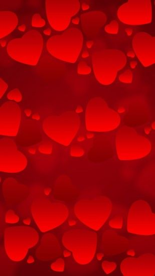 Hearts texture background