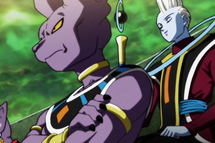 Anime - Dragon Ball Super Beerus (Dragon Ball) Whis (Dragon Ball) Wallpaper