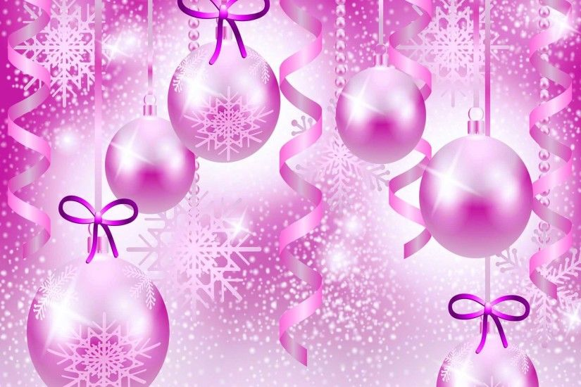 2015 pink Christmas backgrounds - wallpapers, images, photos .