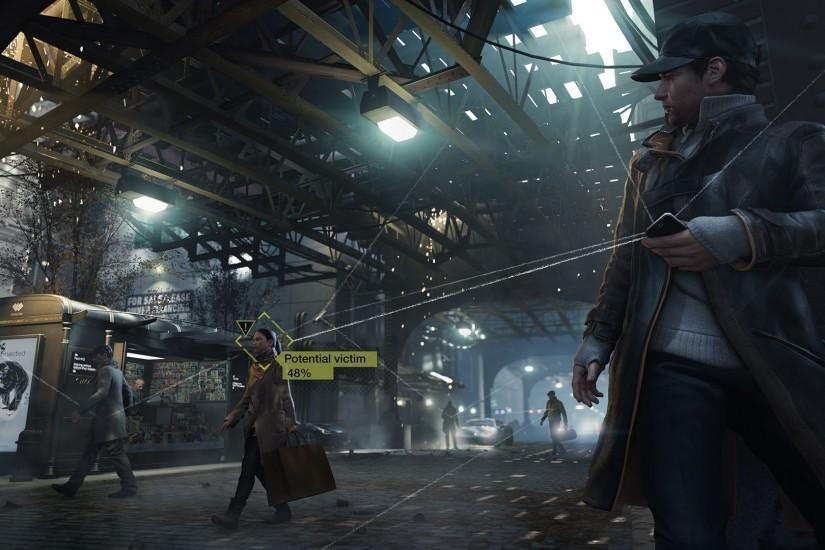 Watch Dogs wallpaper 1366x768