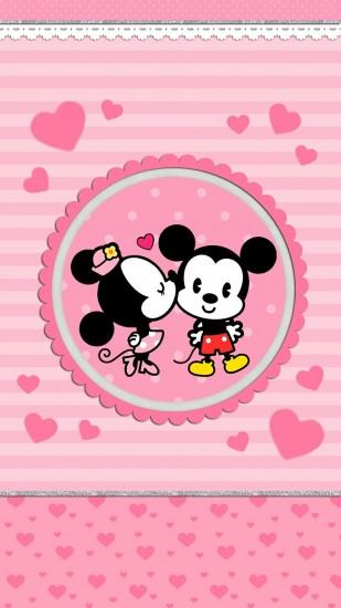 Minnie mouse love. iPhone Wall: MM Love tjn