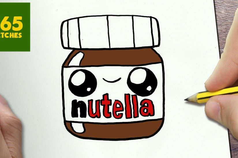 pin Drawn starbucks nutella #1