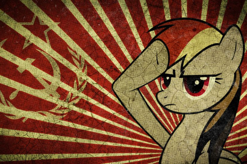 Communism Communist Flags My Little Pony Rainbow Dash Soviet USSR