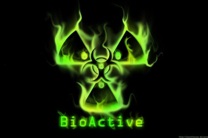 Green Biohazard - HD Wallpapers