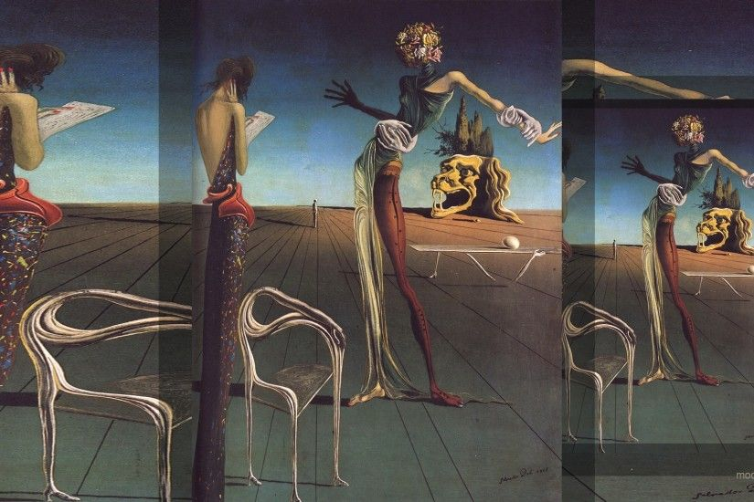 Salvador Dali Wallpapers Free #UWB9955, 0.58 Mb