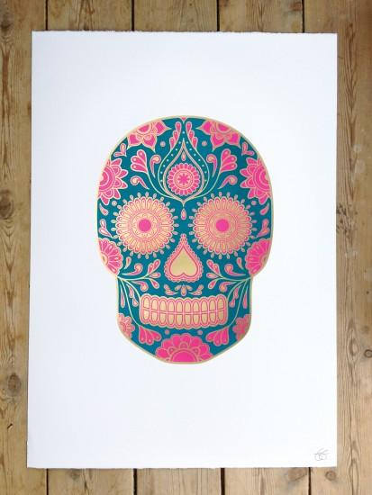 Sugar Skulls Wallpaper Sugar skull wallpaper,