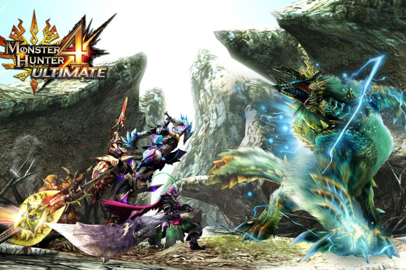 Monster Hunter 4 Ultimate wallpaper by zupertompa Monster Hunter 4 Ultimate  wallpaper by zupertompa