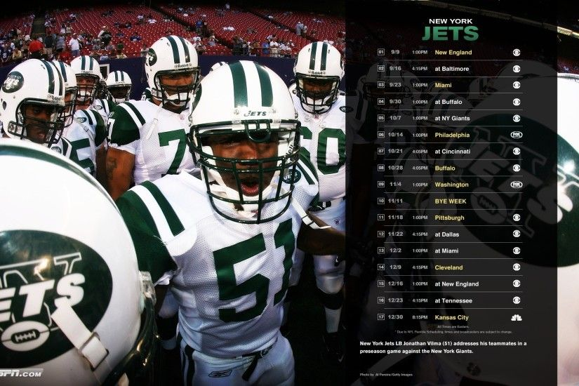 nfl new york jets schedule