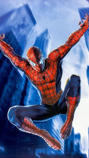 Free Download Spiderman Background for Iphone.