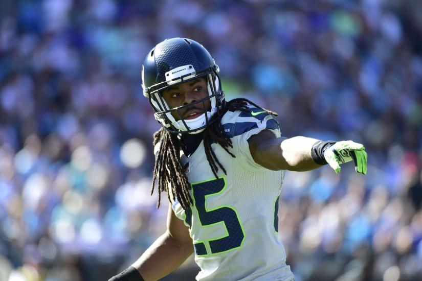 Preview wallpaper uber, madden curse, seattle seahawks, richard sherman  1920x1080