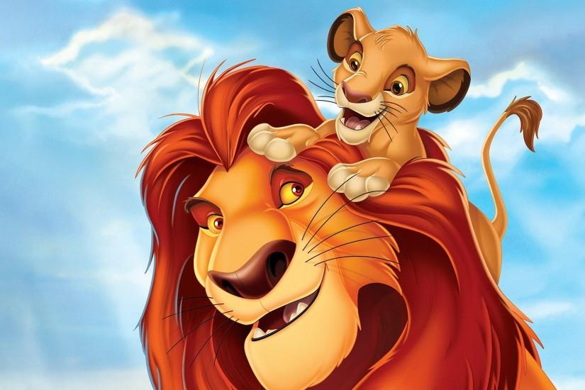 Movie - The Lion King Simba Mufasa (The Lion King) Wallpaper