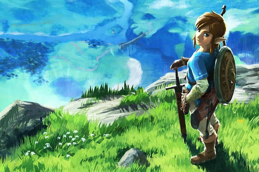 best zelda breath of the wild wallpaper 1920x1080