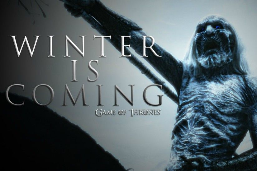 Download hd wallpapers of 135408-Game Of Thrones, Winter Is Coming, White  Walkers