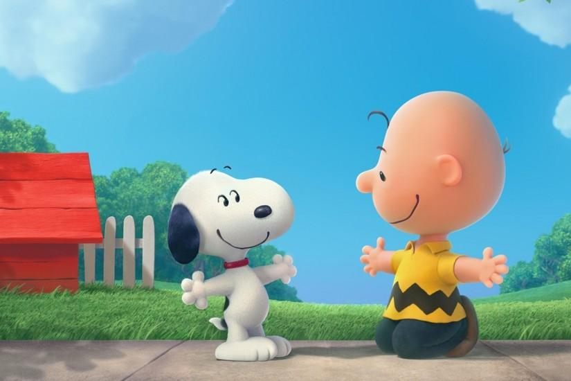 Download Snoopy And Charlie Brown The Peanuts Cartoon HD Wallpaper .