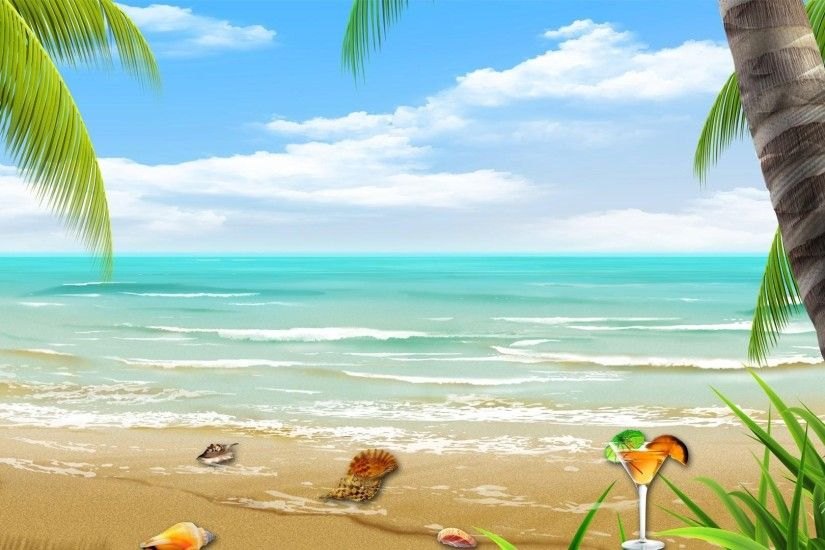 Latest Tropical Beach Backgrounds For Desktop Wallpaper pics. Best Tropical  Beach Sunset Backgrounds of the world.