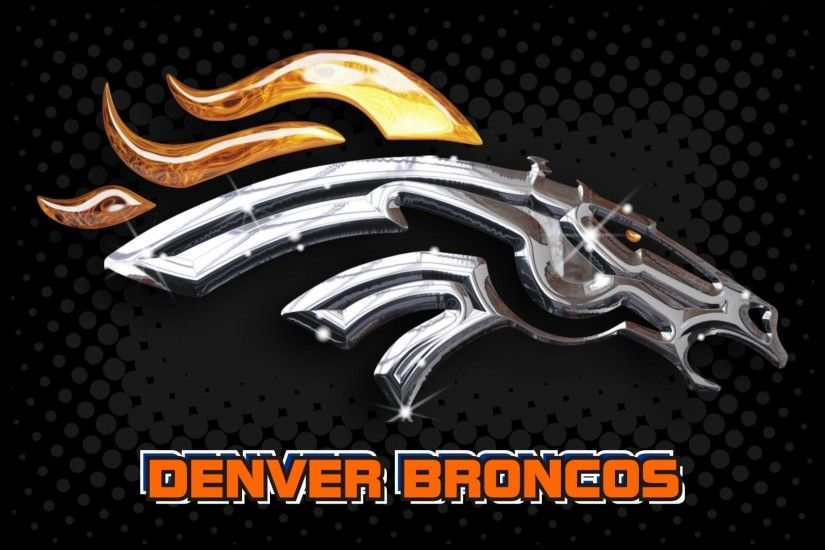 Denver Broncos 2014 NFL Logo Wallpaper Wide or HD | Sports Wallpapers