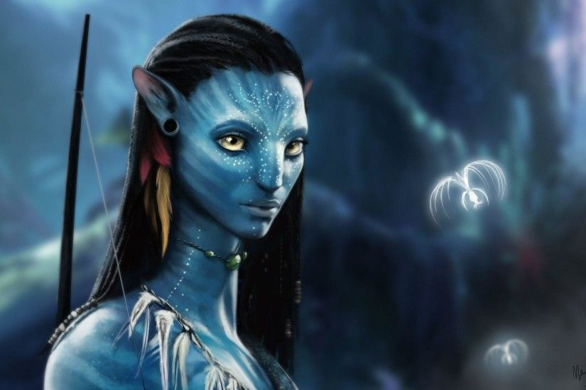 Neytiri Diskahan Moatitey images Avatar HD wallpaper and 1920×1200