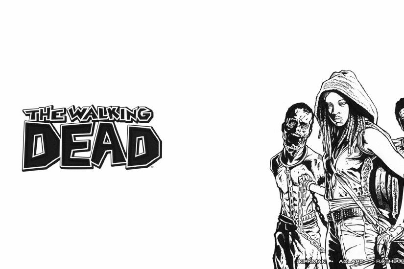 The Walking Dead Comics Wallpapers