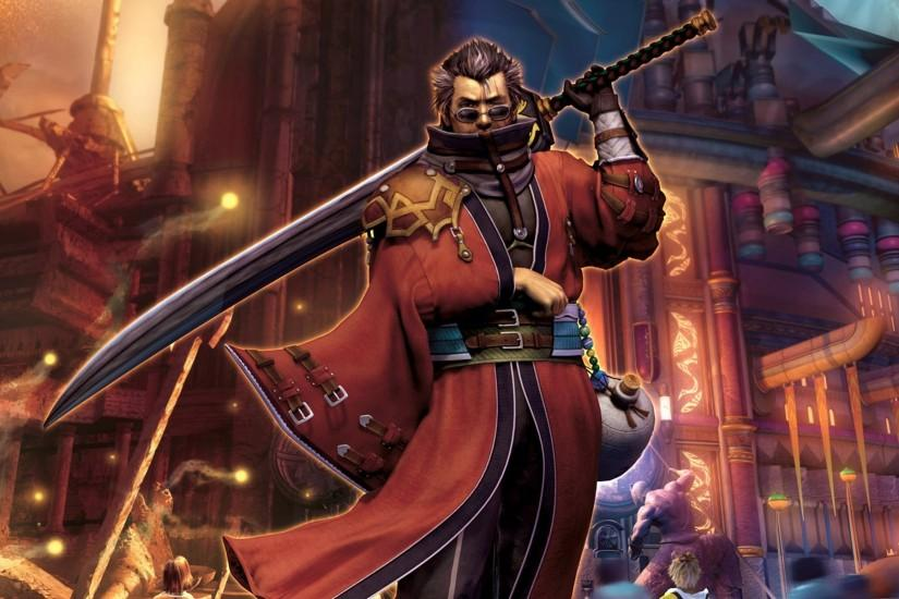 Auron - Final Fantasy X wallpaper #5713