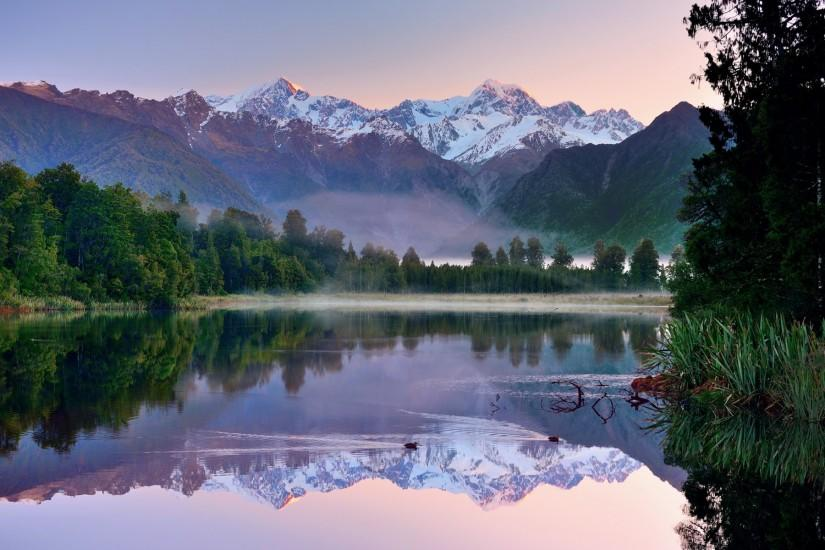 Lake new zealand Wallpapers Pictures Photos Images. Â«