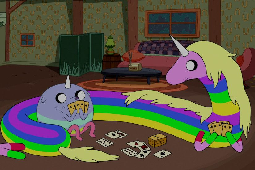 Image - S6e20 T.V. and Lady Rainicorn.png | Adventure Time Wiki | FANDOM  powered by Wikia