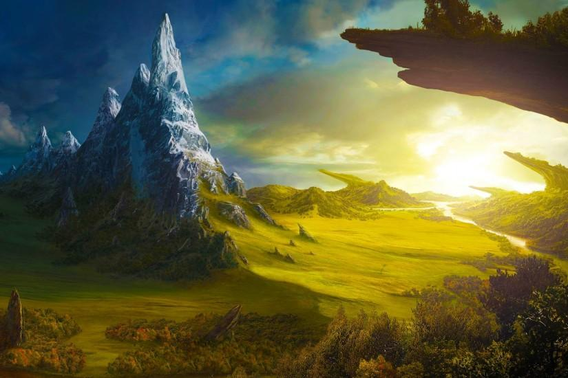 pictures fantasy art | Fantasy world artwork art background wallpapers  images Fantasy HD .