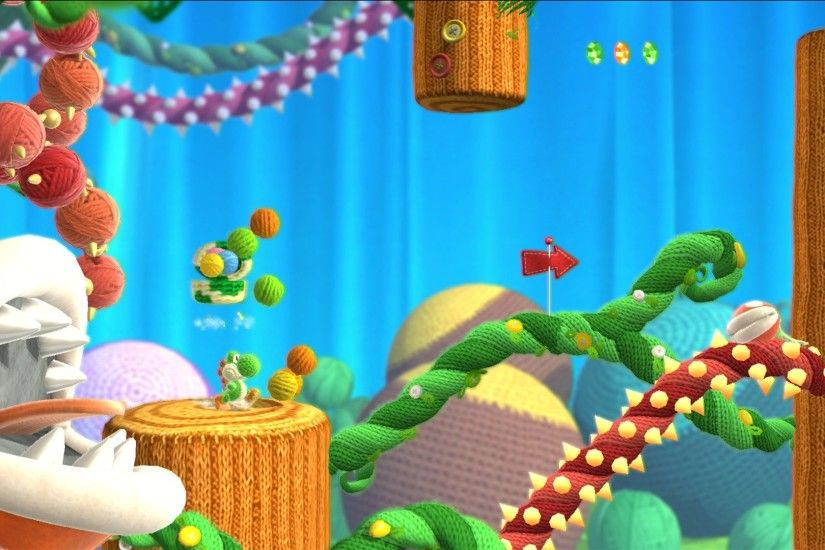 Super Late Review: Yoshi's Woolly World (Nintendo Wii U)